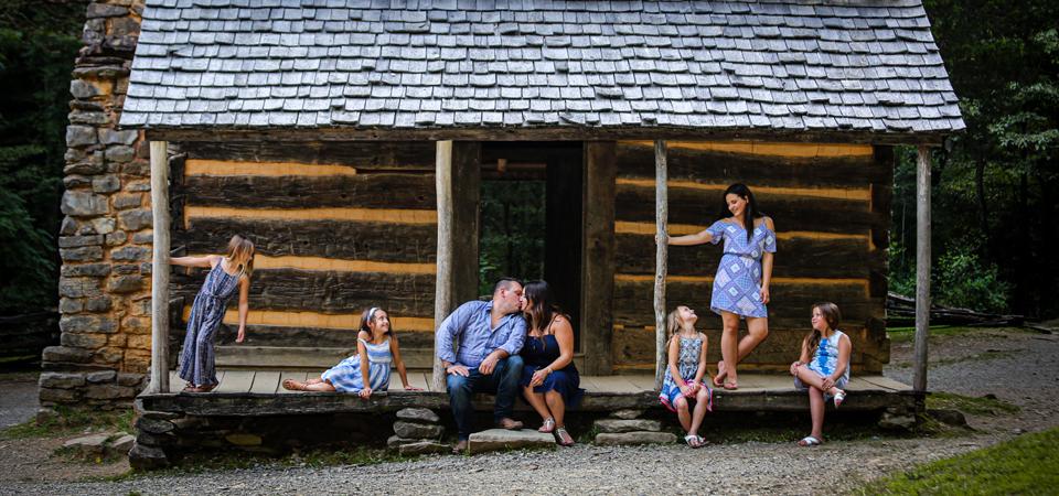 Family Photos In Cades Cove | Smoky Mountain Photographer