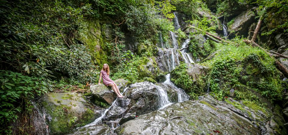 Reagan | Roaring Fork Motor Nature Trail | Gatlinburg, TN Photographer